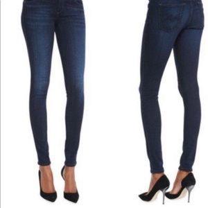 Dark wash super skinny jeans AG